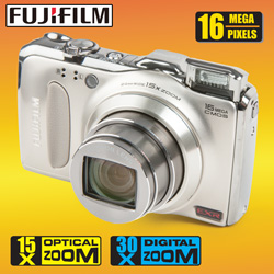 Fuji 16MP Digital Camera  Model# F600EXR-GOLD