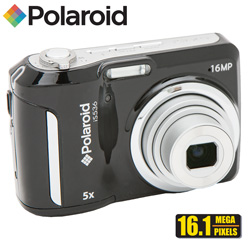 Polaroid 16MP Digital Camera Kit  Model# IS536-BLK/KIT-AMX