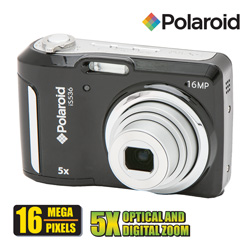 Polaroid 16MP Digital Camera  Model# IS536-BLK/KIT-AMX