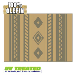 Outdoor Rugs - Western Ash  Model# 350-05171