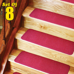 Stair Treads - Set of 8  Model# 10056-RED