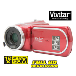 Vivitar HD Camcorder/Camera  Model# DVR906-RED/KIT-AMX