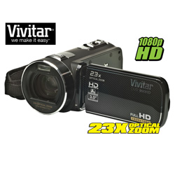 Vivitar Camera/Camcorder&nbsp;&nbsp;Model#&nbsp;DVR990-BLK/KIT-AMX