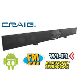 Android Smart TV Sound Bar  Model# CHT918A