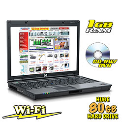HP Duo Core Laptop&nbsp;&nbsp;Model#&nbsp;HP4.0/80GB/CDRW