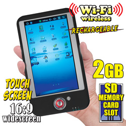 Black 7 Inch WIFI Tablet Computer  Model# 507069