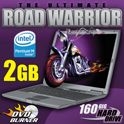 Dell Notebook Computer With 160GB Hard Drive