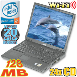 Dell 1.3GHz Notebook Computer With Wireless Card