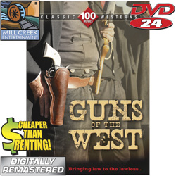 Guns Of The West 24 DVD Set&nbsp;&nbsp;Model#&nbsp;MV11129
