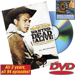 Wanted Dead Or Alive DVD Set&nbsp;&nbsp;Model#&nbsp;MV50729