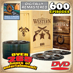 Definitive TV Western DVDs  Model# MV50888