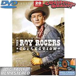 Roy Rogers DVDs  Model# MV50957