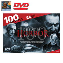 Greatest Horror Classics 100 Movie Pack&nbsp;&nbsp;Model#&nbsp;MV89068