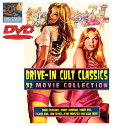 Drive-In Cult Classics w/bonus  Model# MV07095