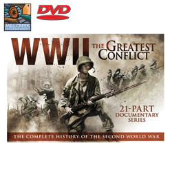 WWII- The Greatest Conflict  Model# MV89060