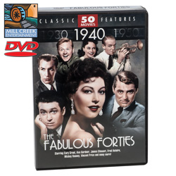 Fabulous Fourties Movie Pack&nbsp;&nbsp;Model#&nbsp;MV07127