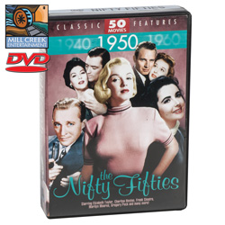 Nifty Fifties Movie Pack&nbsp;&nbsp;Model#&nbsp;MV07125