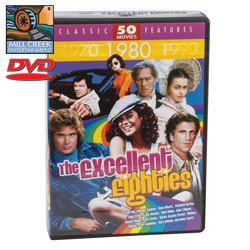 Excellent Eighties Movie Pack  Model# MV07131