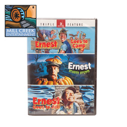 Ernest Triple Feature with Hey Vern  Model# MV52152