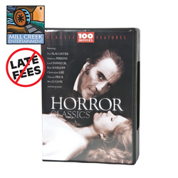 100 Pack of Horror Classics&nbsp;&nbsp;Model#&nbsp;MV11114