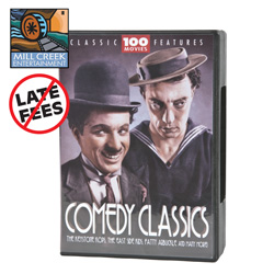 100 Pack of Comedy Classics  Model# MV11125