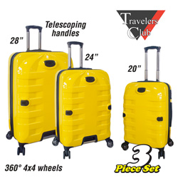 3 Piece Luggage Set&nbsp;&nbsp;Model#&nbsp;PR-27503-EX