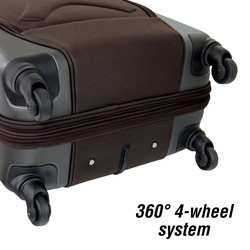 3-Piece Hybrid Luggage Set  Model# PR-11903-EX-201