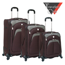 3-Piece Lexington Luggage Set  Model# PR-24103-EX-201