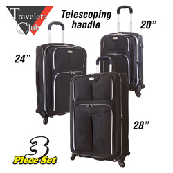 3-Piece Luggage Set  Model# 28003-EX