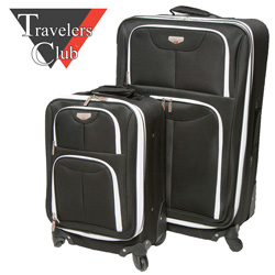 2-Piece Expandable Luggage Set  Model# EX-25102-008