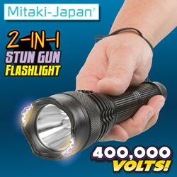 Stun Gun Flashlight  Model# ELSTUN5