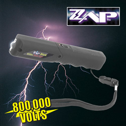 Black Zap Stick Stun Gun  Model# ZAPSTK800-B