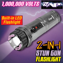 Zaplight Flashlight And Stun Gun  Model# ZAPL