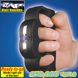 Blast Knuckles Stun Gun&nbsp;&nbsp;Model#&nbsp;ZAPBK950