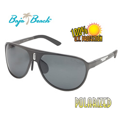 Baja Beach® Gunmetal Sunglasses  Model# BFS532