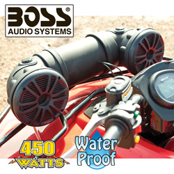 Boss Off Road/Marine Sound System  Model# ATV20