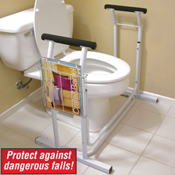 Toilet Safety Support&nbsp;&nbsp;Model#&nbsp;JB4349