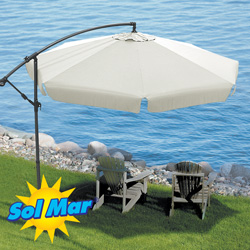 Solmar Cantilevered Umbrella  Model# KFHU-001-N