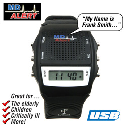 MD Alert Talking Watch  Model# 418970