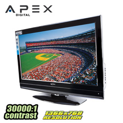 Apex 32 inch LCD TV  Model# LD3249