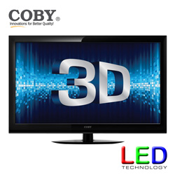 Coby 40 inch 3D LED TV&nbsp;&nbsp;Model#&nbsp;LED3DTV4086