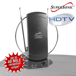 Supersonic HD/Digital Indoor Antenna&nbsp;&nbsp;Model#&nbsp;SC-605