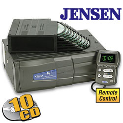 Jensen 10 Disc CD Changer  Model# XCH10RF