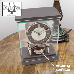 Bulova Mantel Triumph Clock  Model# B1918