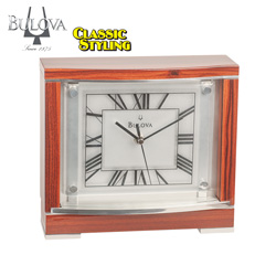 Bulova Vogue Tabletop Clock  Model# B7641