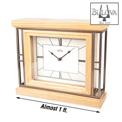 Bulova Legend Mantel Clock  Model# B1668