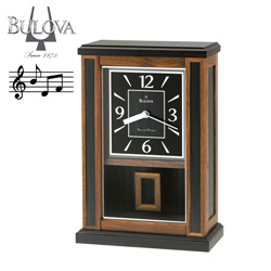Bulova Rutlage Mantel Clock  Model# B7649