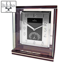 Bulova Thermometer Clock&nbsp;&nbsp;Model#&nbsp;B7591