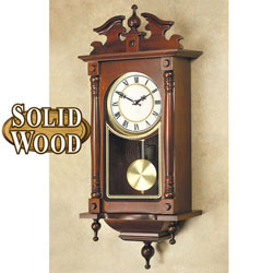 Quartz Solid Wood Heirloom Wall Clock&nbsp;&nbsp;Model#&nbsp;YW046Q