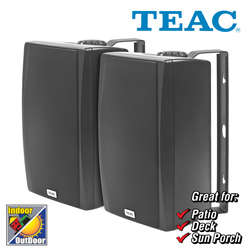 Teac All-Weather Speakers  Model# LS-X55-B